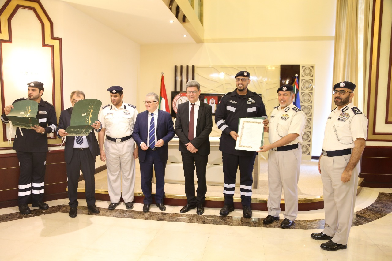 Signature of the MoU between International Master Cbrne Tor